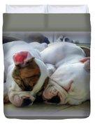 Bulldog Bliss Duvet Cover