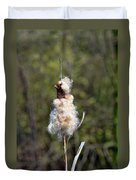 Bulrush Seed Head Disintegrating Duvet Cover