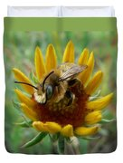 Bumble Bee Beauty Duvet Cover