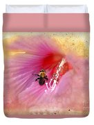 Bumble Bee Bliss Duvet Cover