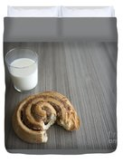 Bun And Milk Duvet Cover