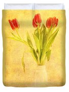 Bunch Of Tulips Duvet Cover