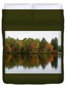 Bunganut Lake Foliage 4 Duvet Cover