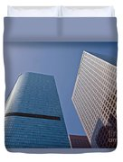 Bunker Hill Financial District California Plaza Duvet Cover