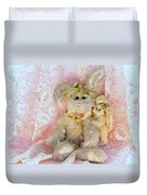 Bunny Lace Duvet Cover