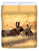 Bunny Love Duvet Cover