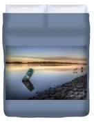 Buoy On The Bank Duvet Cover