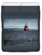 Buoy What A Lighthouse Duvet Cover