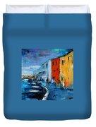 Burano Canal - Venice Duvet Cover