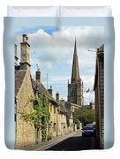 Burford Village Street Duvet Cover