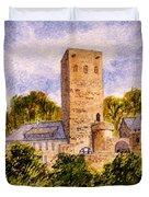Burg Blankenstein Hattingen Germany Duvet Cover