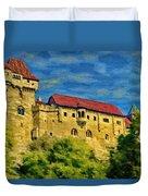 Burg Liechtenstein Duvet Cover