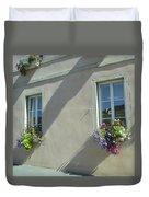 Flower Baskets Duvet Cover