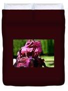 Burgundy Breeze Duvet Cover