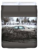 Burial Grounds Duvet Cover