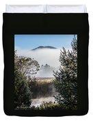Burke Above The Fog Duvet Cover