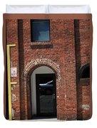 Burlington North Carolina - Brick Entrance Duvet Cover