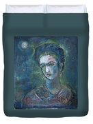 Burn It Blue Frida Duvet Cover