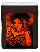 Burning Desire Duvet Cover