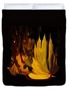 Burning Fall Duvet Cover