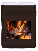 Burning Duvet Cover
