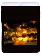 Burning Sky Duvet Cover