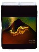 Burning Winds Across The Sahara  Duvet Cover