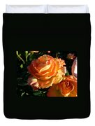 Burnt Rose Duvet Cover