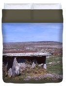 Burren Wedge Tomb Duvet Cover