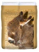 Burro Foal Duvet Cover