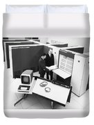 Burroughs 6500 Computer System Duvet Cover