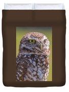 Burrowing Owl 001 Duvet Cover