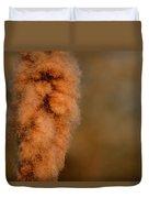 Bursting Cattail Seed Duvet Cover