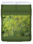 Bursting Dill Plant Duvet Cover