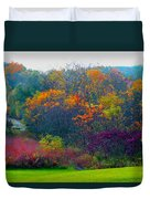 Bursting With Color 1 Duvet Cover