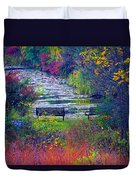 Bursting With Color 2 Duvet Cover
