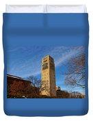 Burton Memorial Tower Duvet Cover