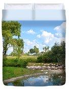 Busch Gardens Savannah Duvet Cover