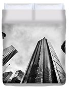 Business Architecture Skyscrapers In London Uk Duvet Cover
