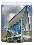 Business Building Duvet Cover