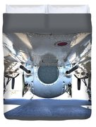 Business End Of A Ball Turret Duvet Cover