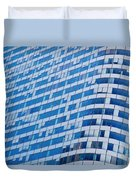 Business Skyscrapers Modern Architecture Duvet Cover by Michal Bednarek