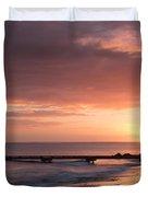 Busselton Sunrise Duvet Cover