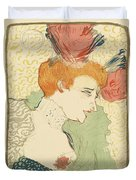 Bust Of Mlle. Marcelle Lender Duvet Cover