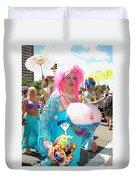 Busty Mermaid Duvet Cover