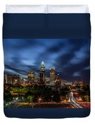 Busy Charlotte Night Duvet Cover