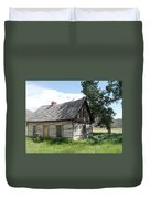 Butch Cassidy Childhood Home Duvet Cover