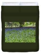 Bute Park Bluebells Duvet Cover