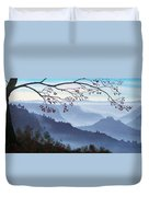 Butte Creek Canyon Mural Duvet Cover