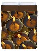 Butter Lamps Duvet Cover